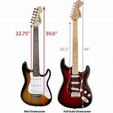 squier mini by fender fender squier mini strat electric guitar brown sunburst w tuner 660845726796 ebay