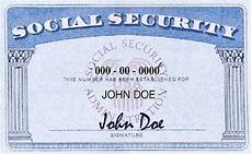make a social security card template social security number verification aaa credit screening