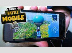 Fortnite Battle Royale game mobile wallpaper for Android