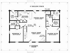 2 bedroom cottage floor plans gallery for gt simple one story 2 bedroom house plans 1320