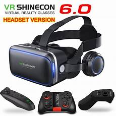 Reality Smartphone Glasses by Original Vr Shinecon 6 0 Headset Version Reality