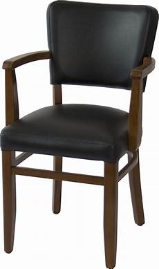 gastronomie stuhl schwarz mit eckiger armlehne