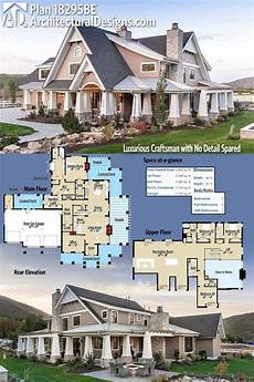 craftsman house plans with porches architectural designs luxurious craftsman house plan