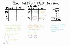 multiplication worksheets box method 4331 bullajian 5th 6th intervention multiplication strategies