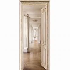 papier peint trompe l oeil porte papier peint pour porte