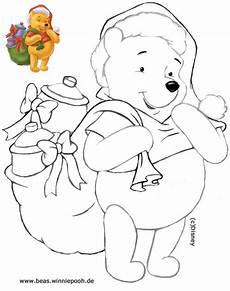 Weihnachten Winnie Pooh Malvorlagen Beas Winniepooh