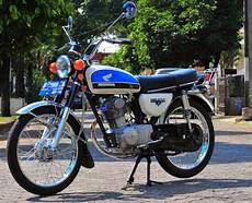 Gl 100 Modif Cb by 70 Gambar Modifikasi Honda Cb100 Klasik Antik Otomotif
