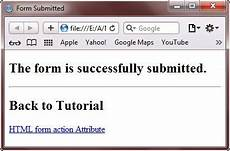 form attr action html form action attribute