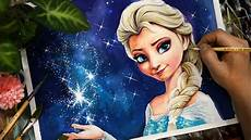 Elsa From Frozen Painting 엘사그리기 이루다아트
