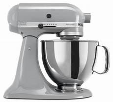 kitchenaid artisan mixer metallic chrome ksm150psmc
