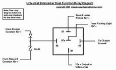 4 pole relay wiring diagram joetunes hidden radio suzuki volusia forums intruder volusia