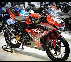 Modifikasi Gsx R150 by Modifikasi Gsx R150 Livery Yoshimura Cxrider