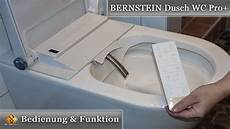Bernstein Dusch Wc Pro Bedienung Funktionen