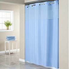 Hookless Mystery Shower Curtain hookless blue mystery polyester shower curtain walmart