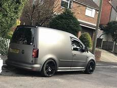 Vw Caddy 2k 3m Matt Charcoal Met Wrap Vw Caddy Tuning