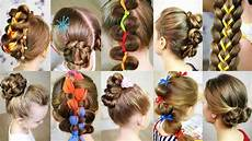 10 cute 5 minutes hairstyles for busy morning quick easy summer hairstyles youtube