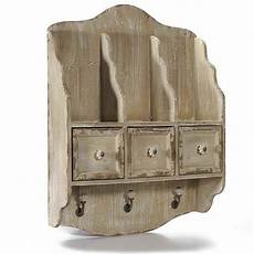 mensole cassetto mensola piattaia in legno con tre cassetti 3 mensole e