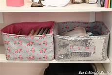 Tuto Diy Panier Rangement En Tissu Les Lubies De Louise