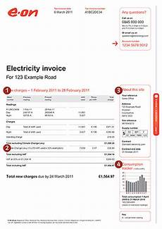 invoice your account e on
