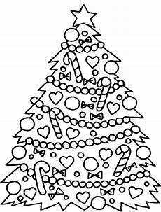 Malvorlagen Weihnachtsbaum Kostenlos Tree Coloring Pages For At Getcolorings