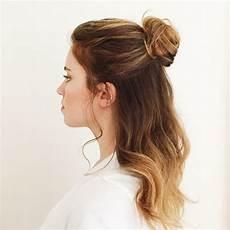 Small Hair Bun Style