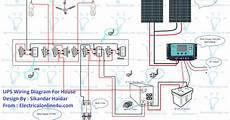 house solar panel wiring ups wiring diagram with solar panel for house electricalonline4u