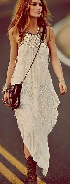 robe originale chic comment portet la robe hippie chic moda