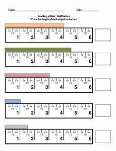 measurement to half inch worksheets 1480 reading a ruler half inches quarter inches and eighth inches