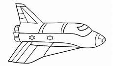 Mewarnai Gambar Pesawat Roket Warna Buku Mewarnai Gambar