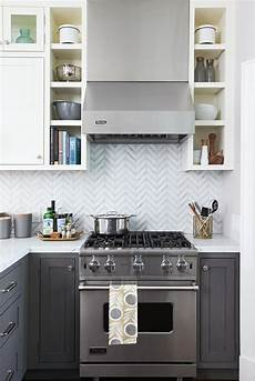 Kitchen Cabinets And Backsplash Declutter In Less Time Better Homes Gardens