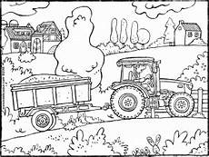 kleurplaten kleurplaat tractor