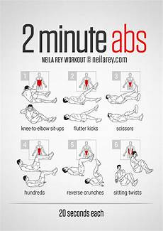 2 minute abs favorite pins abs workout workout at