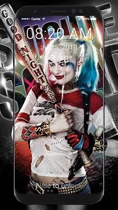 Wallpaper Lock Screen Harley Harley Quinn