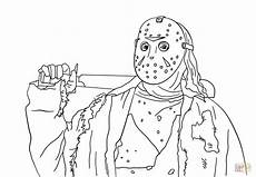 Malvorlagen Age Ultimate Friday The 13th Jason Coloring Page Free Printable