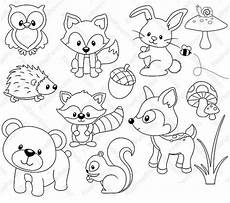 woodland animals coloring pages 17187 woodland animals color page animal coloring pages animal drawings coloring pages