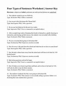 grammar worksheets types of sentences 24993 kinds of sentences exercises with answers exercise in identifying sentences by function 2019 02 25