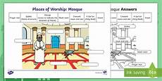 places of worship worksheets ks2 16010 places of worship mosque worksheet made
