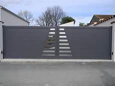Portail Maison Leroy Merlin Portail Battant Aluminium Avignon Gris L 300 Cm X H 164