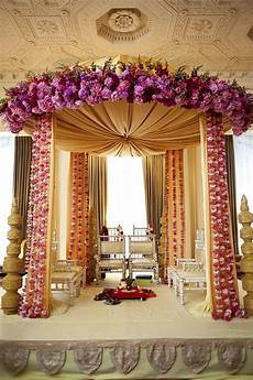 indian wedding decorations elegant regal mandap floral