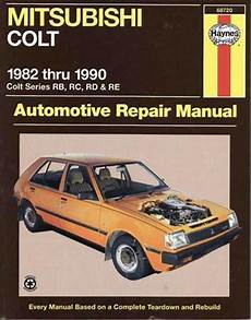 hayes auto repair manual 1984 mitsubishi tredia navigation system mitsubishi colt rb rc rd re 1982 1990 haynes owners service repair manual 1563922797