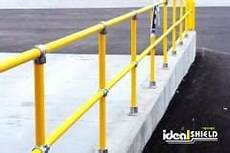 steel pipe plastic handrails for industrial use
