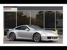 Certified 2015 Porsche 911 Carrera S Coupe Sport Design