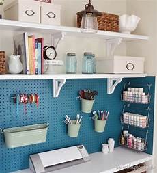 10 ways to use pegboard in your craft room scrap booking
