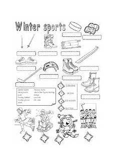 winter olympics esl worksheets 19995 worksheet winter sports angielskie idiomy idiomy edukacja