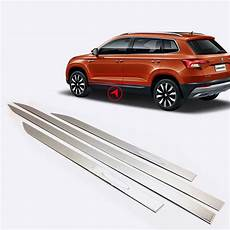 for skoda karoq 2017 2018 stainless steel exterior