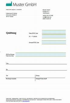 quittungsvorlage quittungsvordruck zum quittung schreiben