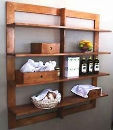 mensola a muro mensola in legno massello rustica libreria mensole