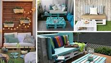 paletten sofa balkon build a balcony sofa tips and diy ideas for a sofa made of pallets my desired home