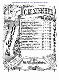 Bruder Malvorlagen Chords Free Sheet For Bruder Liederlich Op 107 Ziehrer
