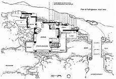 frank lloyd wright waterfall house plans falling water house plan falling water frank lloyd